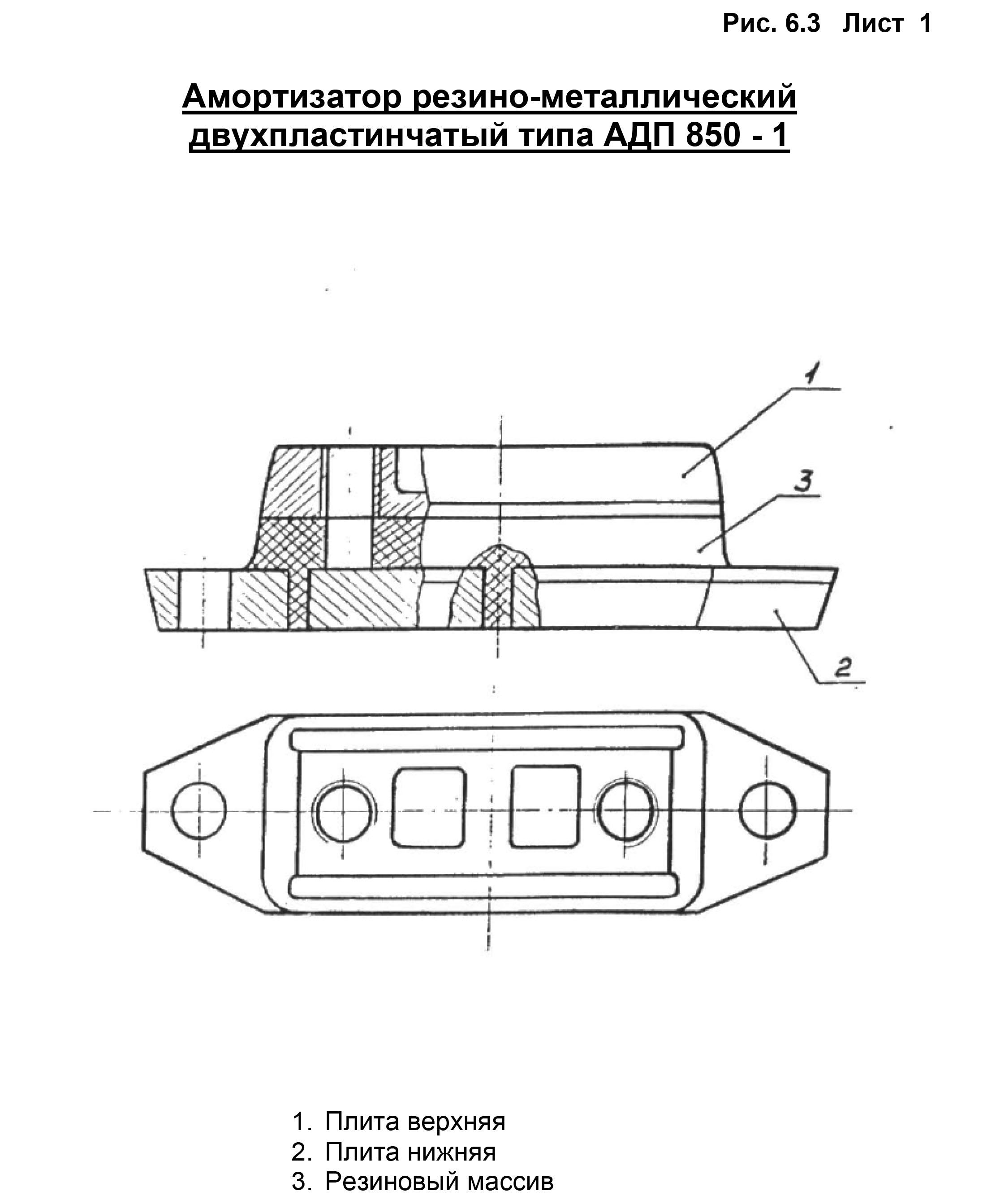 Амортизатор АДП-850-1