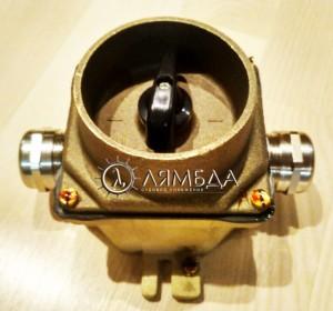 ВЭМ-Л-220-2-2-16-18-1-167 Выключатель электрический морской