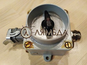 РСШВЛ-220-2-1-14-1 Розетка судовая штепсельная с выключателем L