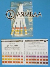 PH TEST STRIPS 2 PACK MO319 L